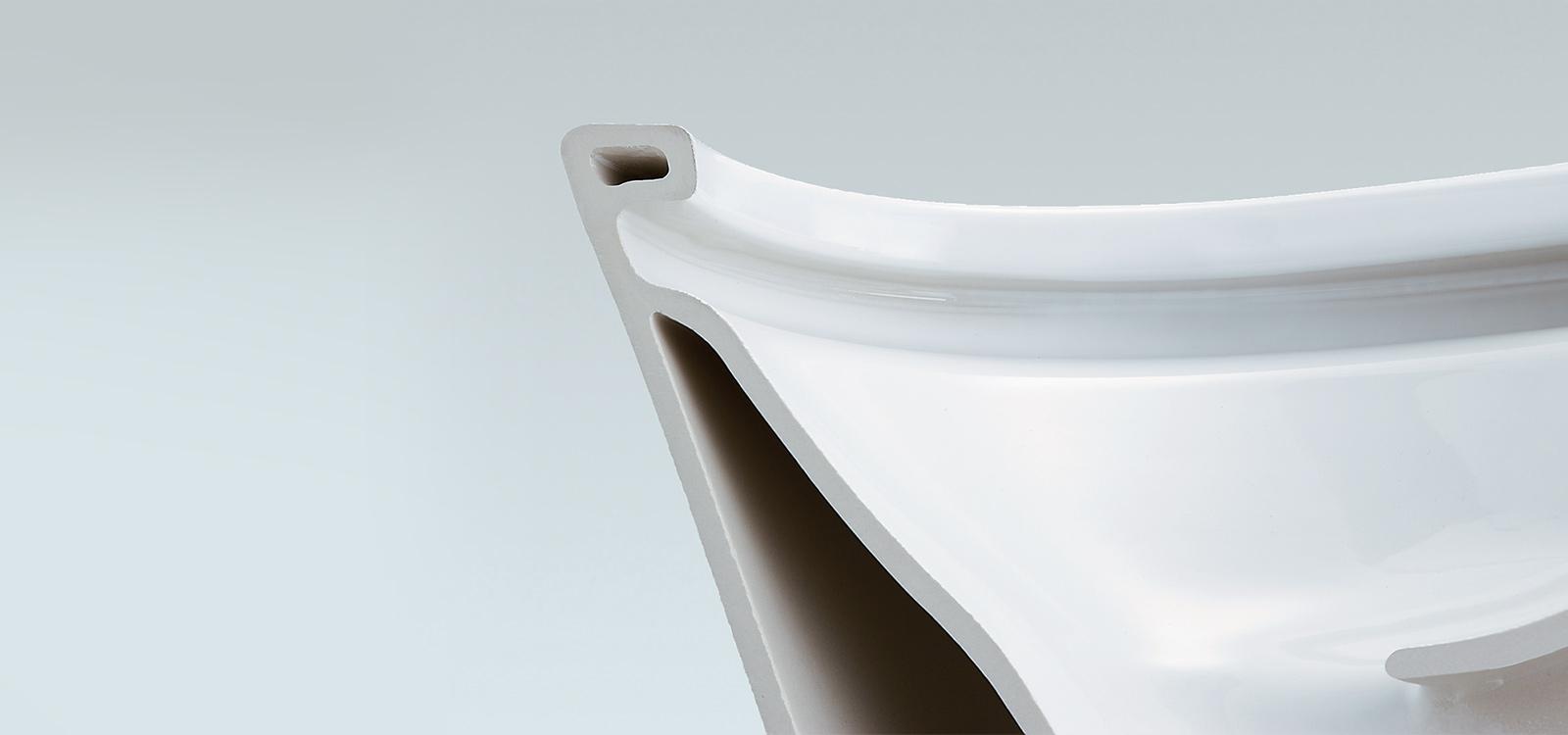 INAX 伊奈,抗污的形狀設計